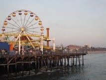 Пристань Santa Monica Стоковые Фотографии RF