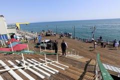 Пристань Santa Monica Стоковые Фото