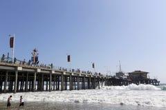 Пристань Santa Monica Стоковое Изображение RF