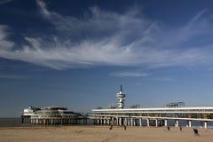Пристань Scheveningen Стоковые Изображения RF