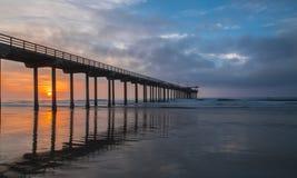 Пристань Scripps, La Jolla Ca Стоковая Фотография