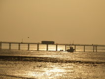 Пристань Southend Стоковая Фотография RF