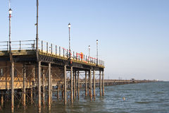 Пристань Southend, Essex, Англия Стоковое Фото