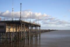 Пристань Southend, Essex, Англия Стоковые Фотографии RF