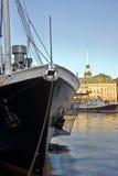 пристань stockholm Стоковое Изображение RF