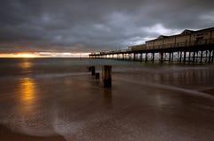 Пристань Teignmouth стоковая фотография