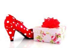 присутствующий ботинок Стоковое Фото
