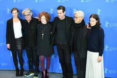 Присяжные члены 68th варианта фестиваля фильмов Berlinale Стоковое фото RF