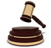 присяжный зала судебных заседаний атрибута Стоковое фото RF