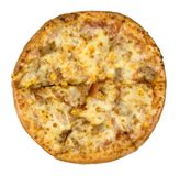 Притворная пицца стоковое изображение