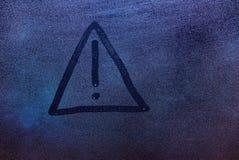 Притяжка восклицательного знака Стоковая Фотография RF