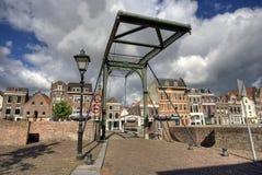 притяжка Голландия моста стоковое фото