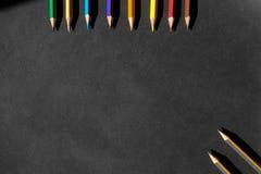 Притяжка карандаша цвета Стоковые Изображения
