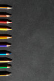 Притяжка карандаша цвета Стоковые Фотографии RF