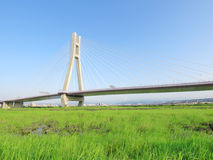 притяжка моста стоковая фотография