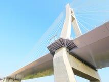 притяжка моста Стоковые Фотографии RF