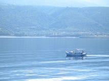 Приходить назад от рыболовства Стоковые Изображения