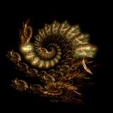 приходит дракон Стоковое Изображение RF