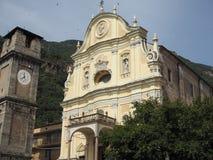 Приходская церковь в Quincinetto Стоковое Изображение RF