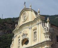 Приходская церковь в Quincinetto Стоковая Фотография RF
