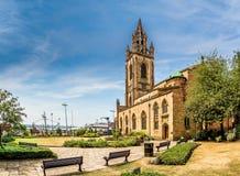 Приходская церковь Ливерпуля стоковая фотография