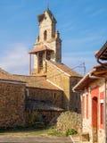Приходская церковь - El Ganso стоковое фото