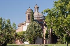 приход воиск церков barcelona стоковое фото rf