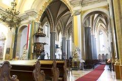 приход города церков budapest внутренний стоковые изображения