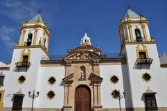 Приход нашей дамы Socorro, Ronda (Испания) стоковая фотография
