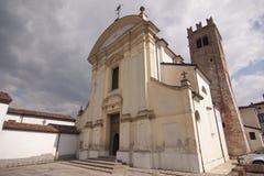 Приход Сан Mariano Martire Canicossa Marcaria Mantua Италии стоковое фото