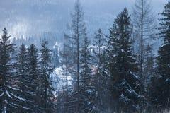 Приход святого креста в Zakopane стоковое изображение rf