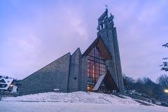 Приход святого креста в Zakopane стоковые фотографии rf