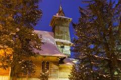 Приход St Casimir в Koscielisko стоковые фото