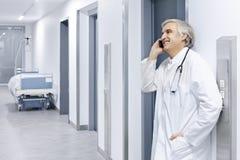 Прихожая доктора больницы лифта Стоковые Изображения