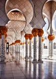 Прихожая HDR мечети Стоковое Изображение RF