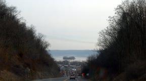 Приходить вниз гора Стоковое фото RF