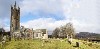 Приходская церковь Девон Widecombe Стоковая Фотография