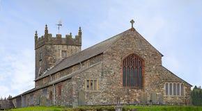 Приходская церковь Hawkshead Стоковое Изображение RF