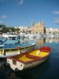 Приходская церковь, Msida, МАЛЬТА стоковая фотография rf