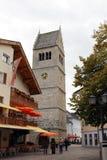 Приходская церковь Zell am видит Стоковые Изображения