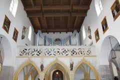 Приходская церковь Zell am видит Стоковые Изображения RF