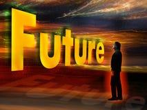 приходя будущее Стоковое фото RF