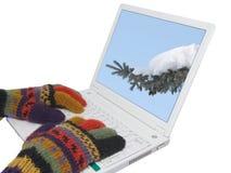 приходя зима Стоковая Фотография RF