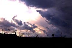 приходя шторм Стоковые Изображения RF