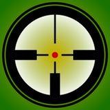 Прицельтесь метка, перекрещение, значок перекрестия для фокуса, точности, цели иллюстрация вектора