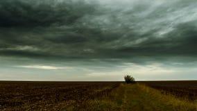 Причаливая дождь Стоковая Фотография RF