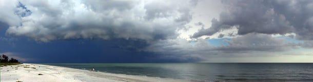 причаливая шторм Стоковое фото RF