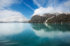 причаливая lamplugh ледника Стоковые Изображения