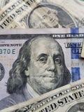 причальте к американским счетам долларов, экономике роста, предпосылке и текстуре стоковые изображения rf
