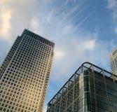 причал london зданий канереечный самомоднейший Стоковая Фотография RF